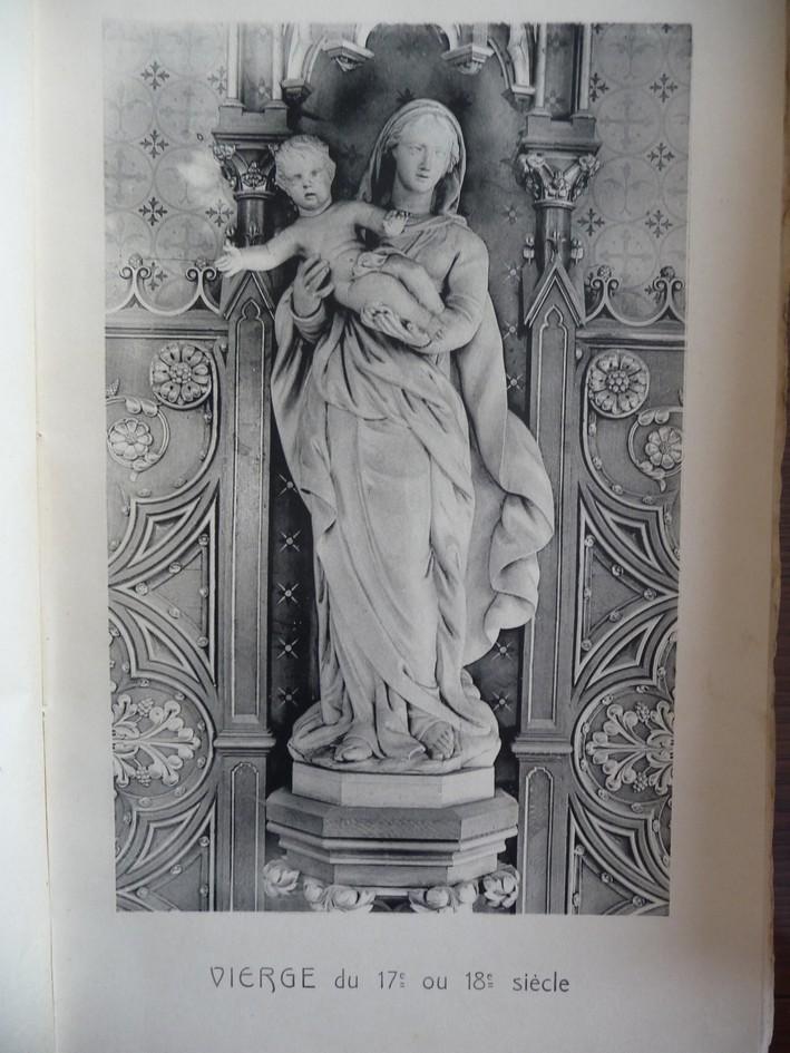 L'EGLISE de Le Quesnel : église Saint léger. Vierge10