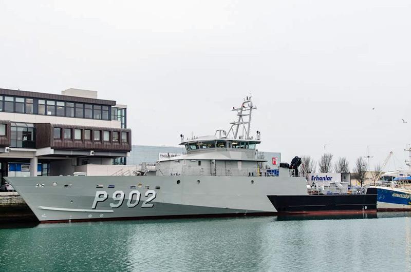 Le nouveau patrouilleur P902 POLLUX prend forme 10847810