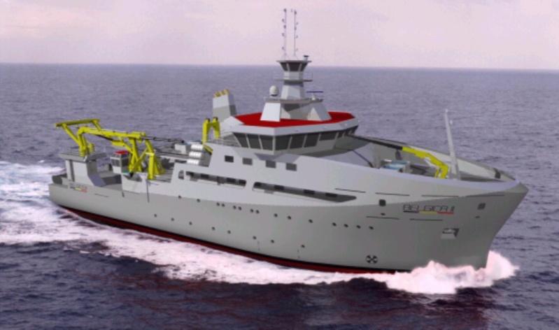 Remplacement du navire de recherche océanographique BELGICA News2010