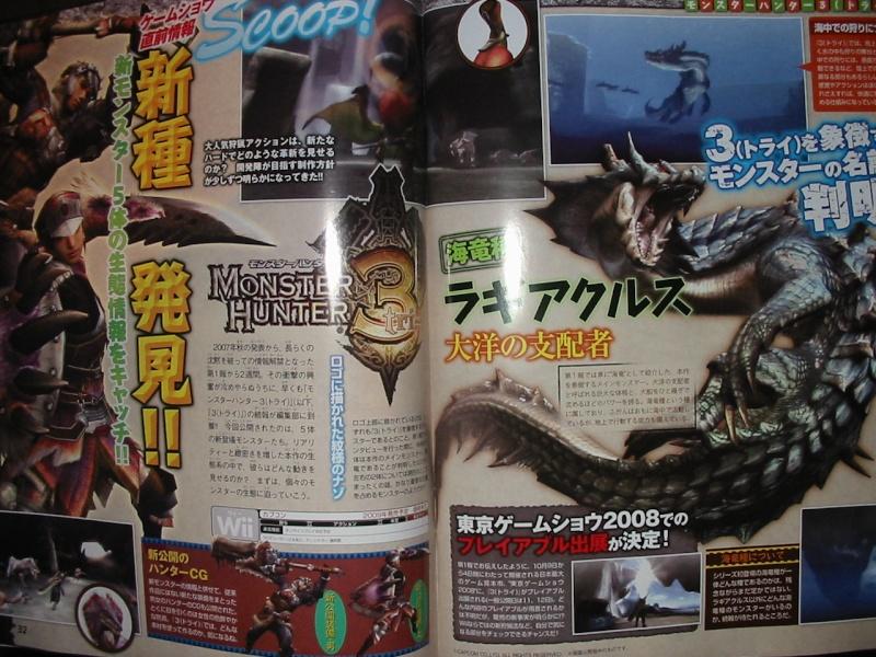 Récapitulatif : Monster Hunter Tri 61331510