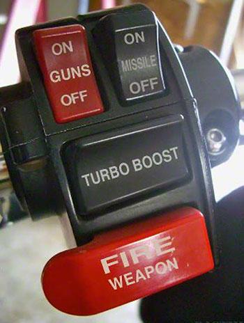 Interrupteur étanche avec fixation au guidon Handle10