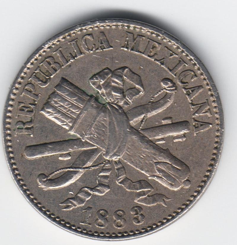 1 Centavo. México. 1883. Ciudad de México 1000_110