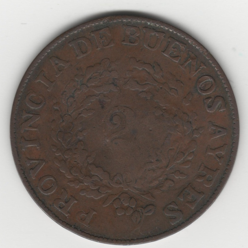 2 Reales. Argentina. 1853 120_110