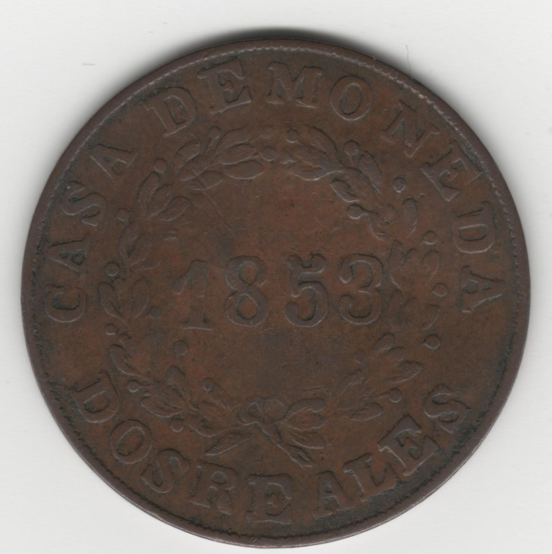 2 Reales. Argentina. 1853 120_210