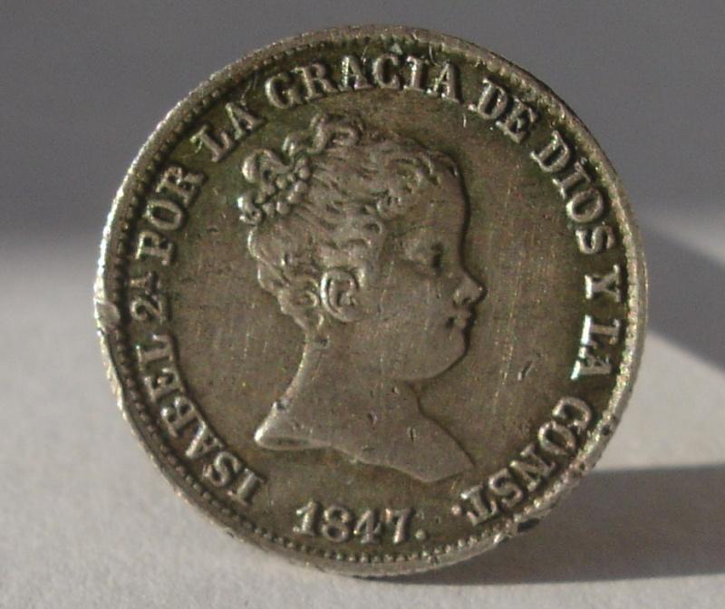 1 Real. Isabel II. 1847. Madrid Dsc08910