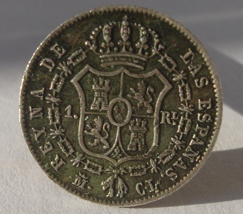 1 Real. Isabel II. 1847. Madrid Dsc08911