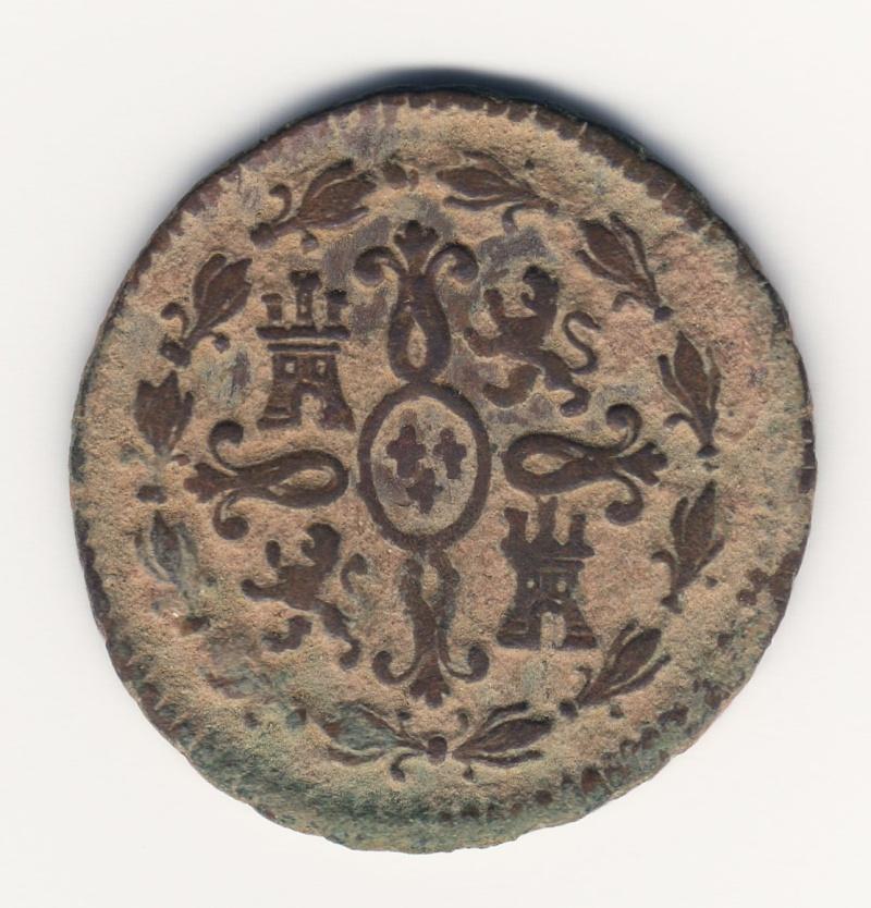 2 Maravedís. Carlos IV. 1798. Segovia Img76010