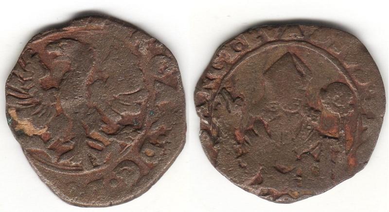2 picciolos - PANDOLFO MALATESTA -  ceca de Fani- Italia -  1384-1427  Img79910