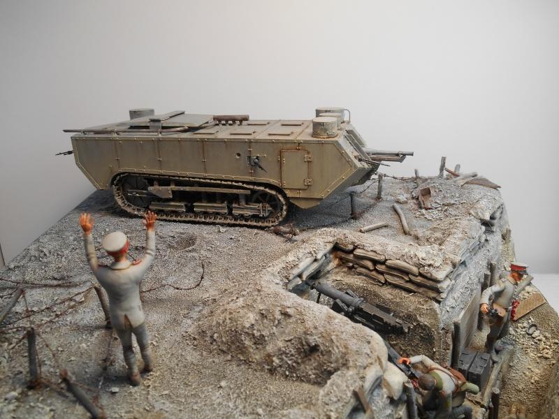 Août 1918 - L'espoir renaît - Saint-Chamond (Takom 1/35e) et figurines HISTOREX 1/32e puis figurines ICM 1/35e Aoyt_133