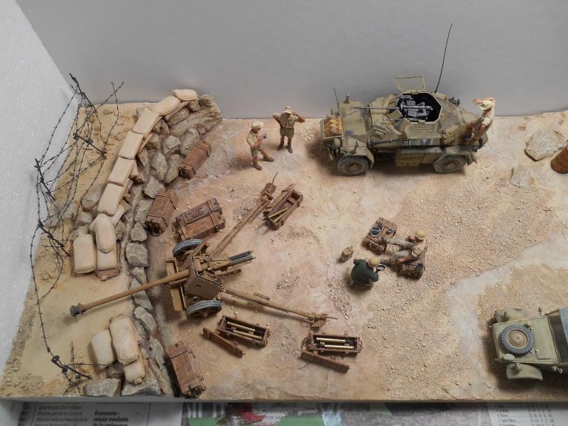 De Tobruk à El Alamein - Octobre 42 - Maquettes Tamiya et Italeri - Figurines MK35 - 1/35e Tobruk11