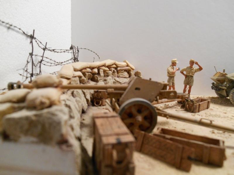 De Tobruk à El Alamein - Octobre 42 - Maquettes Tamiya et Italeri - Figurines MK35 - 1/35e Tobruk12