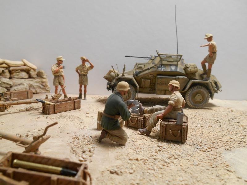 De Tobruk à El Alamein - Octobre 42 - Maquettes Tamiya et Italeri - Figurines MK35 - 1/35e Tobruk13