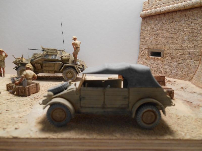 De Tobruk à El Alamein - Octobre 42 - Maquettes Tamiya et Italeri - Figurines MK35 - 1/35e Tobruk14