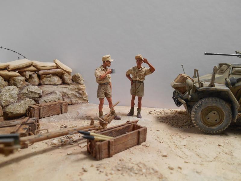 De Tobruk à El Alamein - Octobre 42 - Maquettes Tamiya et Italeri - Figurines MK35 - 1/35e Tobruk15
