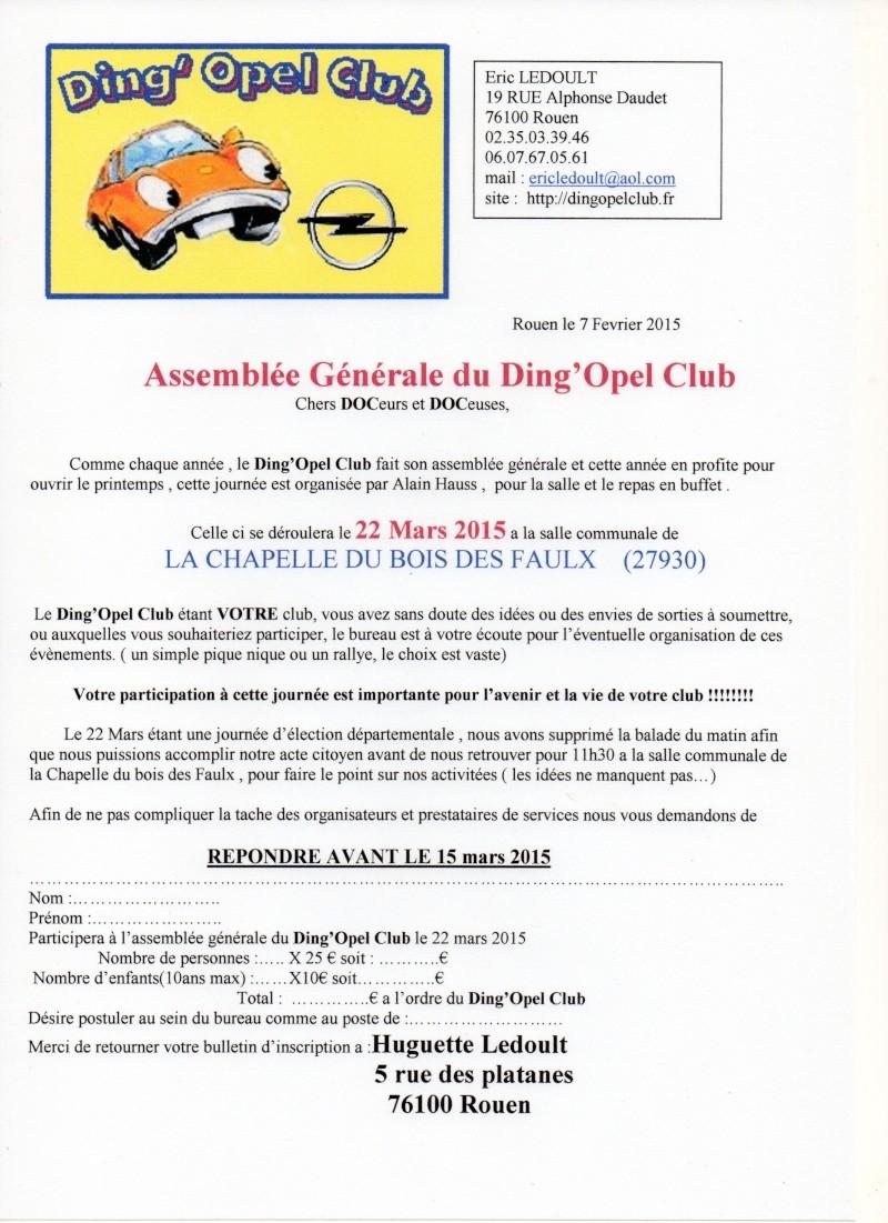 le 22 Mars 2015, assemblée générale du DOC Ag_20110