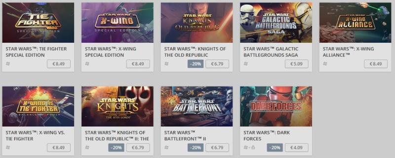 Jeux Star Wars avec GOG.com Gog10