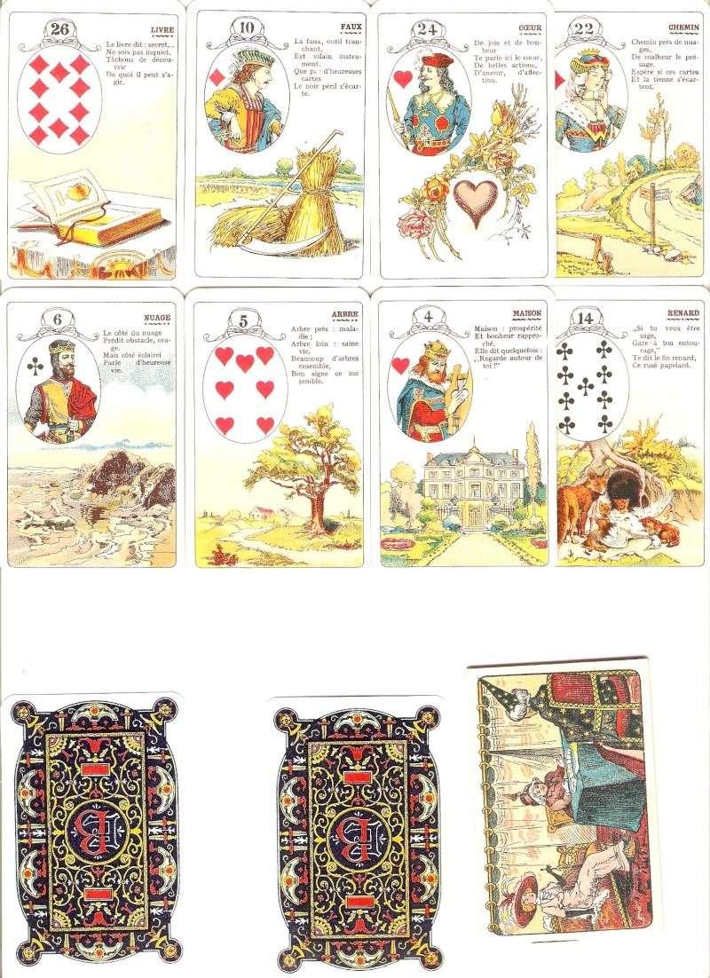 Les différentes versions des  cartes Lenormand - Page 3 Cartes13