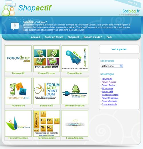 Evénement: Shopactif, Le nouveau magasin Forumactif...! 310