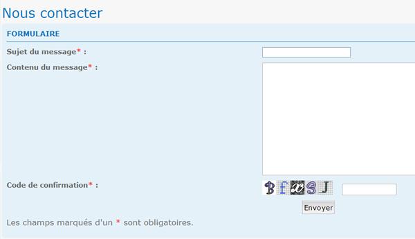 Nouveau: formulaire de contact + la copie des permissions font leur apparition sur forumactif 7710