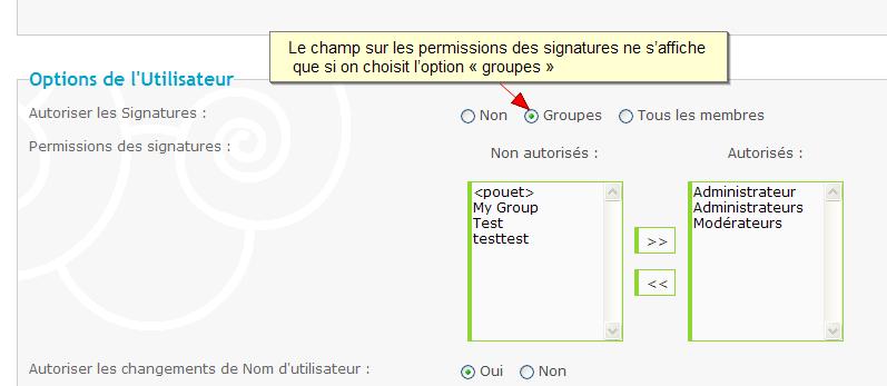 Nouveau: formulaire de contact + la copie des permissions font leur apparition sur forumactif 9910