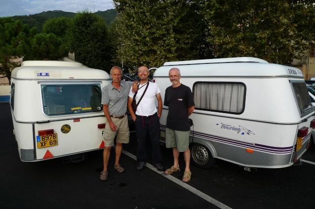 Corsica 2010 avec trois Puck P1020213
