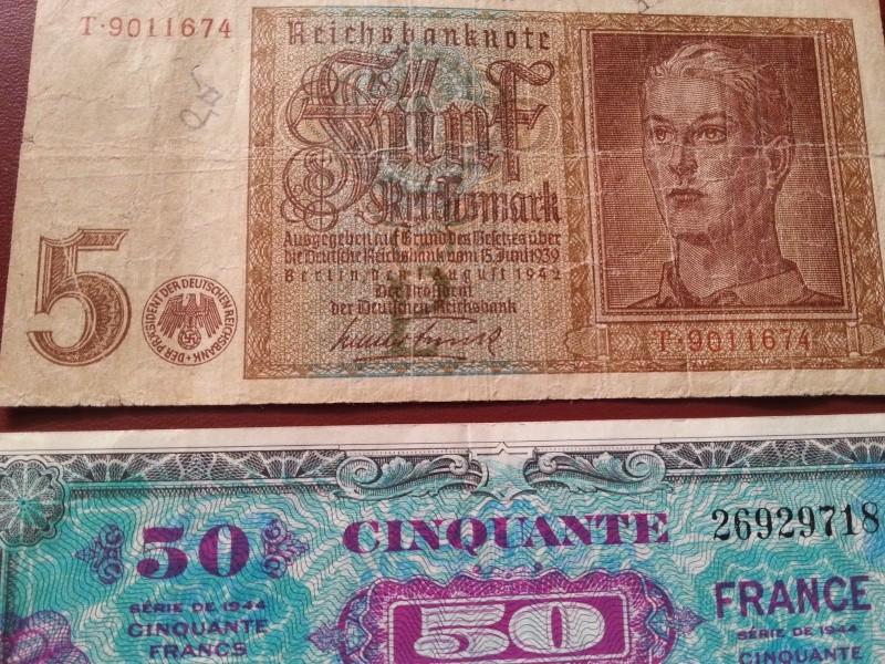 Ma collection de pieces et de billets WWII 20141210