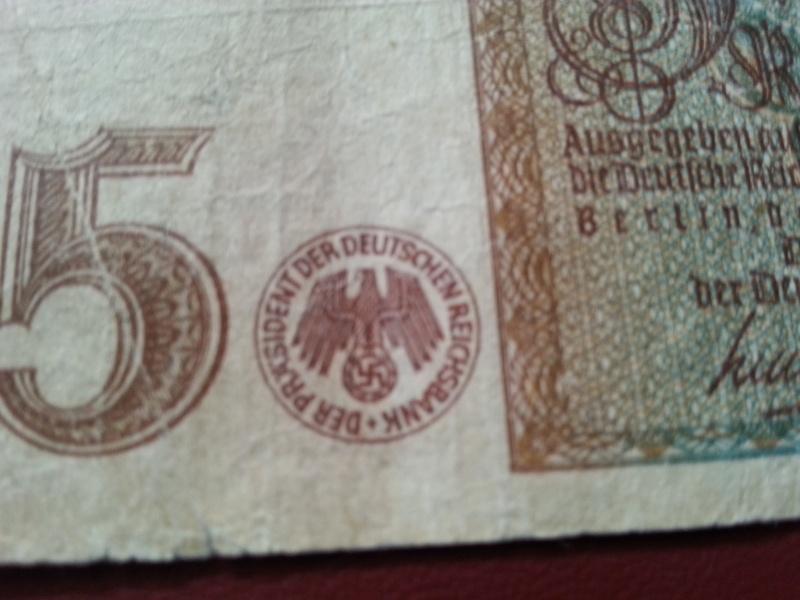 Ma collection de pieces et de billets WWII 20141212