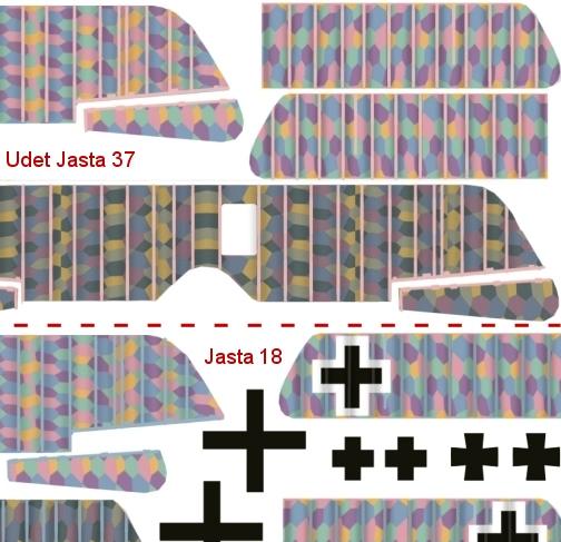 Deux Pfalz D-III / D-IIIa et demi,  1/72 - Page 4 _decal11