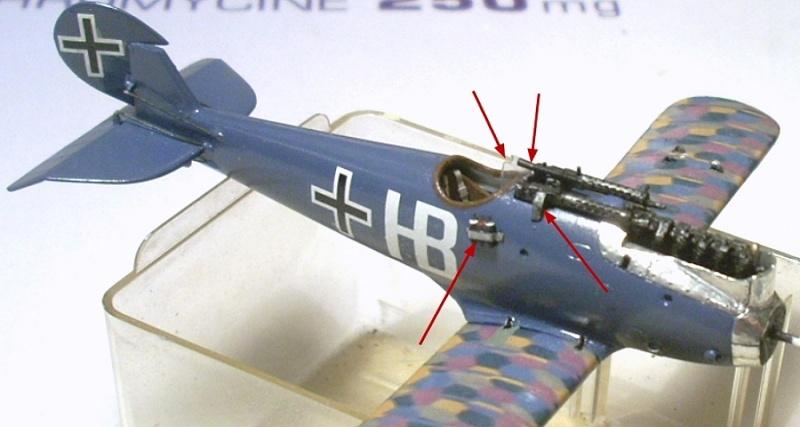 Montage: deux Pfalz D-III / D-IIIa et demi,  1/72 - Page 4 Montag16