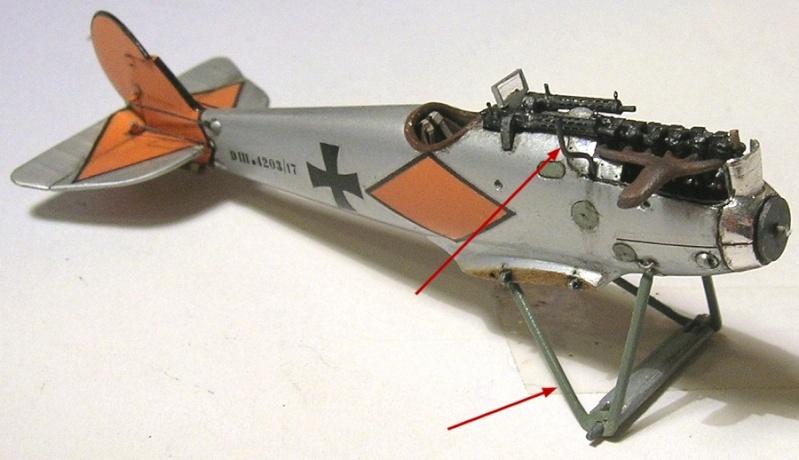Montage: deux Pfalz D-III / D-IIIa et demi,  1/72 - Page 4 Montag19