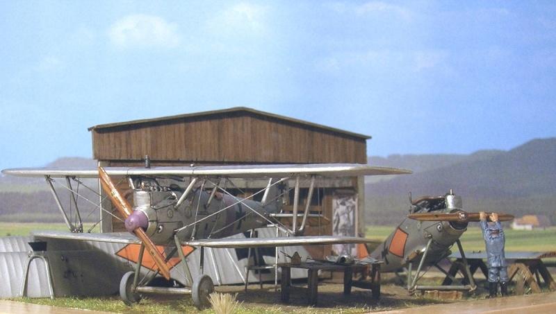 Pfalz D-III et D-IIIa en réparations, MAC Distribution 1/72 Pfalz_11