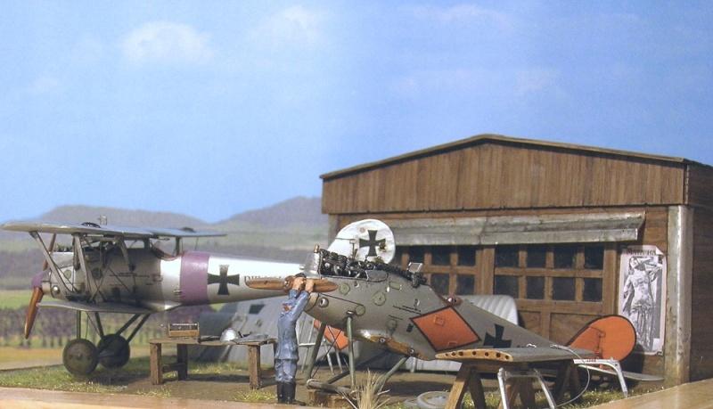 Pfalz D-III et D-IIIa en réparations, MAC Distribution 1/72 Pfalz_13