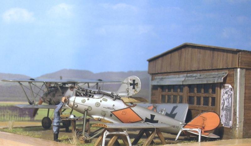 Pfalz D-III et D-IIIa en réparations, MAC Distribution 1/72 Pfalz_14