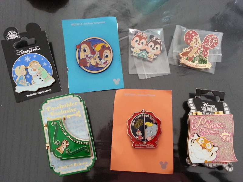 Le Pin Trading à Disneyland Paris 20150210