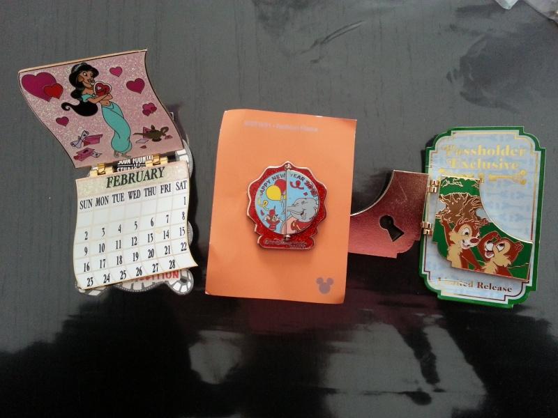 Le Pin Trading à Disneyland Paris 20150211