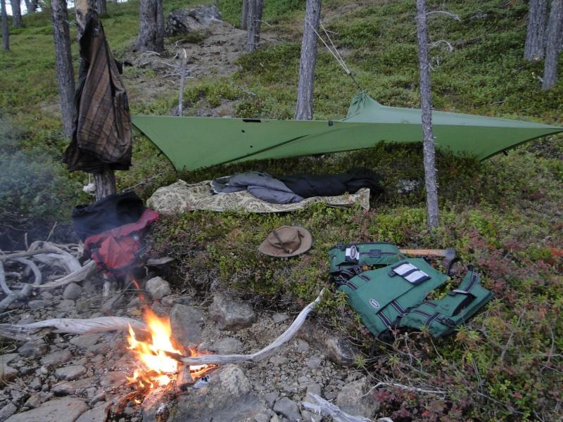 Un peu de Laponie a la periode du Ruska... Bivoua10