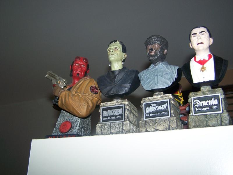 BUSTES Frankenstein, Dracula et wolf man 100_5213