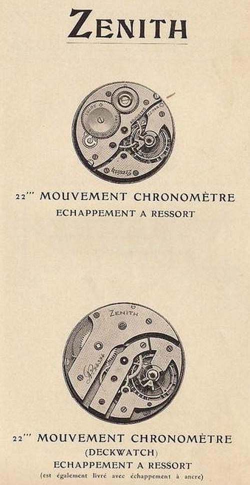 Chronomètres de bord , Chronomètres de vitrine  406_0010