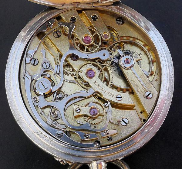 Un chronographe de poche ZENITH pas comme les autres Chron-10