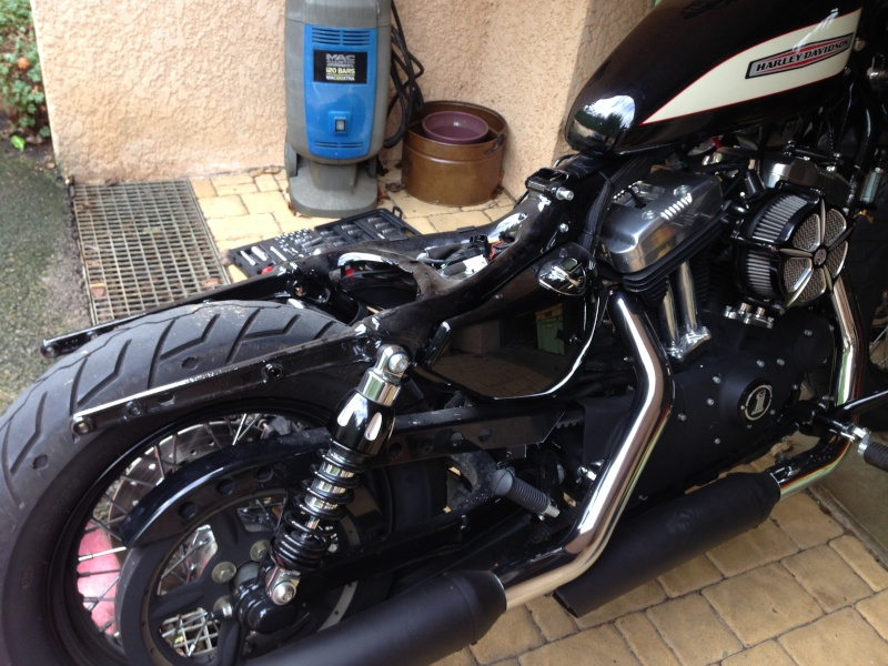 Harley Davidson Sporster 1200 Forty Eight avec quelques modifs ... - Page 9 Img_3811