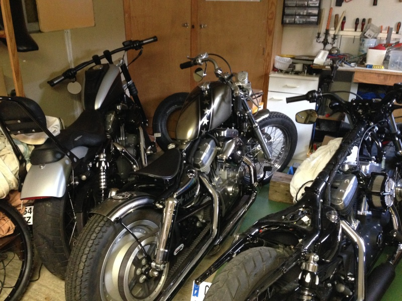 Harley Davidson Sporster 1200 Forty Eight avec quelques modifs ... - Page 9 Img_3911