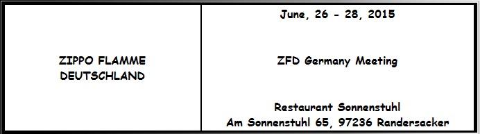 convention Zippo en Allemagne - 26/06/2015 - Randersacker Ra10