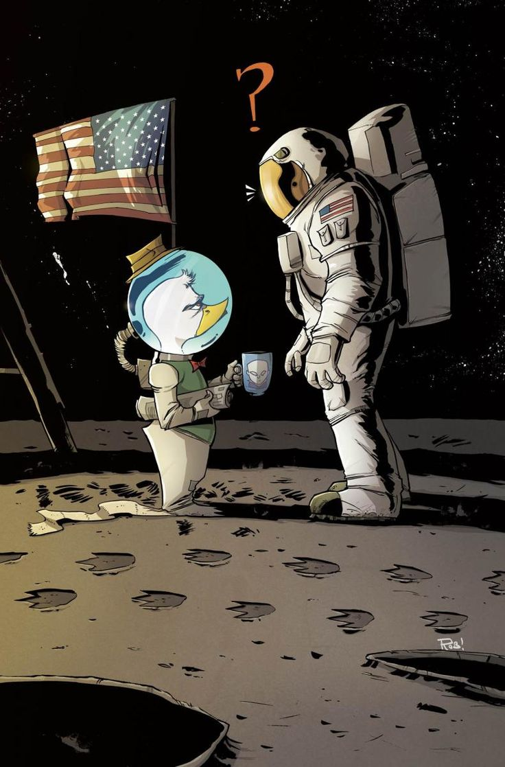 (Dessin) Howard the Duck plus rapide que la NASA.  Howard10