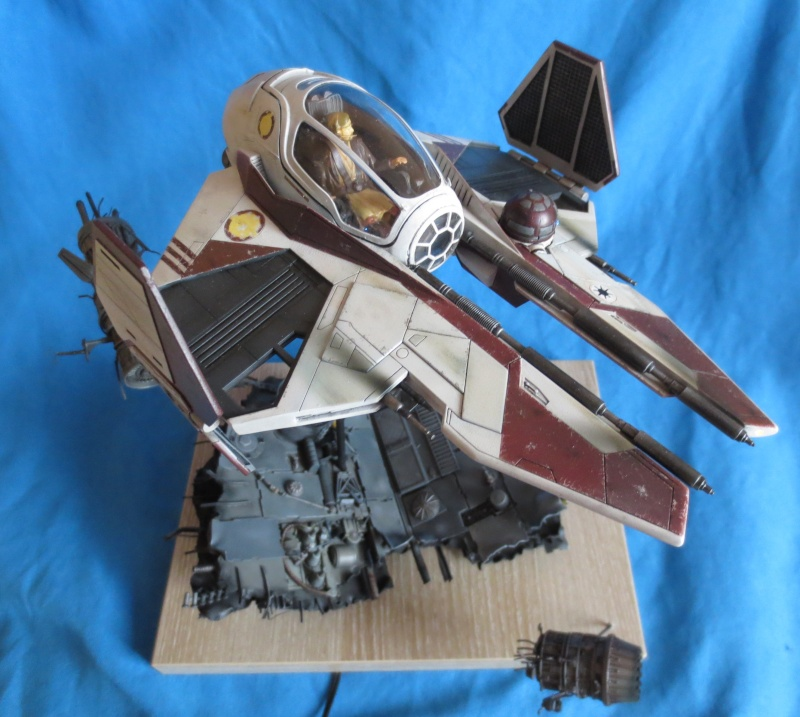 eta-2 actis-class light interceptor  - Version Revell - Page 4 Genera10