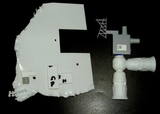 Epave de vaisseau pour base de diorama Pannea11