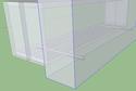 projet d'étagères (livres), fixations invisibles 110