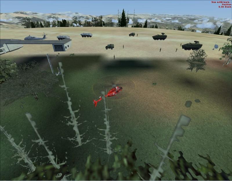 mission militaire Thales hélicos et avions Mobile10