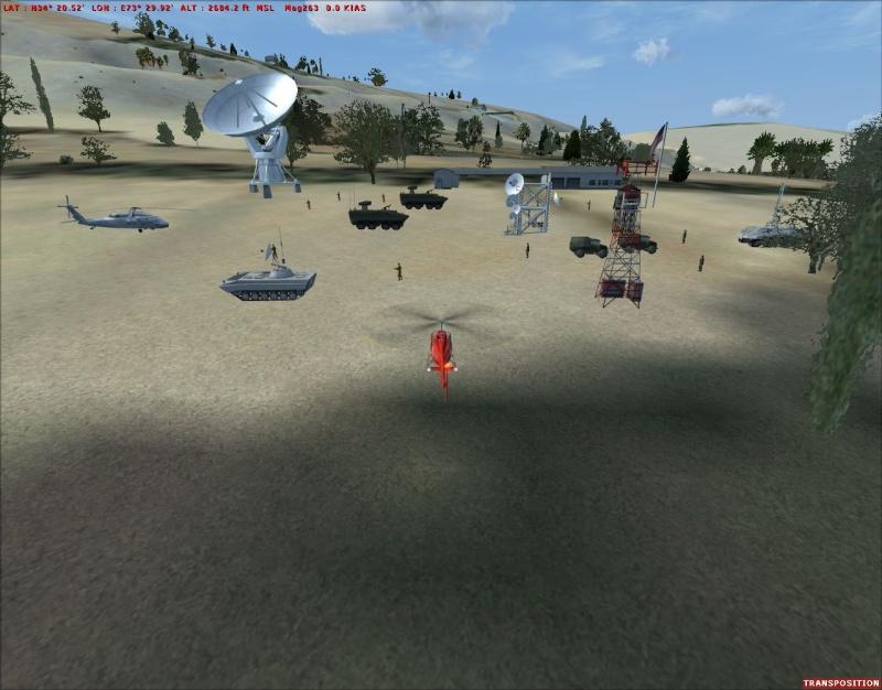 mission militaire Thales hélicos et avions Rampe_10