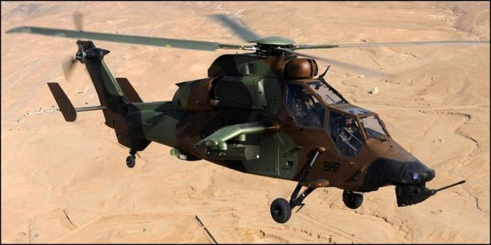 mission militaire Thales hélicos et avions Tigre10