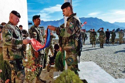 L'armée française quitte aujourd'hui 31 décembre 2014  l'Afghanistan  5f335210